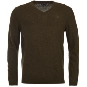 Camisola Essencial Lambswool V-Neck Barbour